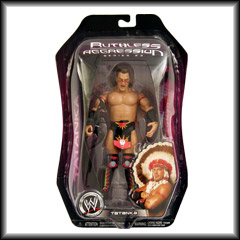 Tatanka Ruthless Aggression Series 23 Action Figure