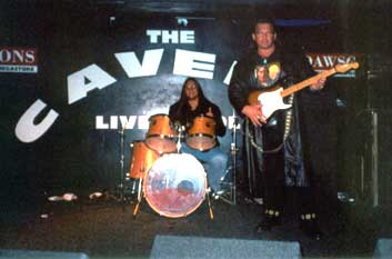 Tatanka in The Cavern where The Beatles played
