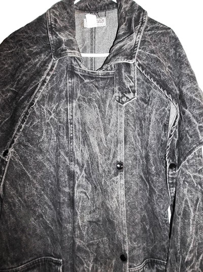 Full Length Denim Jacket worn at WWF