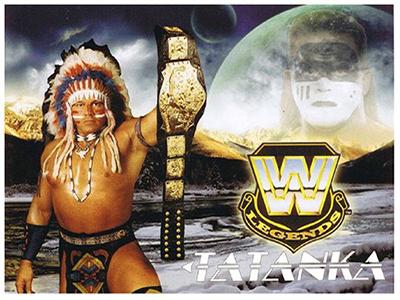 Legend Tatanka 2 Sided Postcard