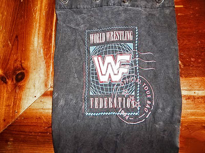 Official 1994 WWF Int. Tour Bag