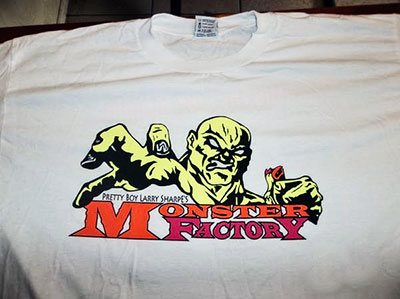 Official Training Camp of Tatanka (Monster Factory Alumni Shirt)