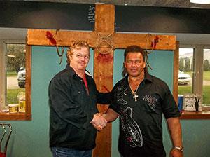 Tatanka  and Keith McCray