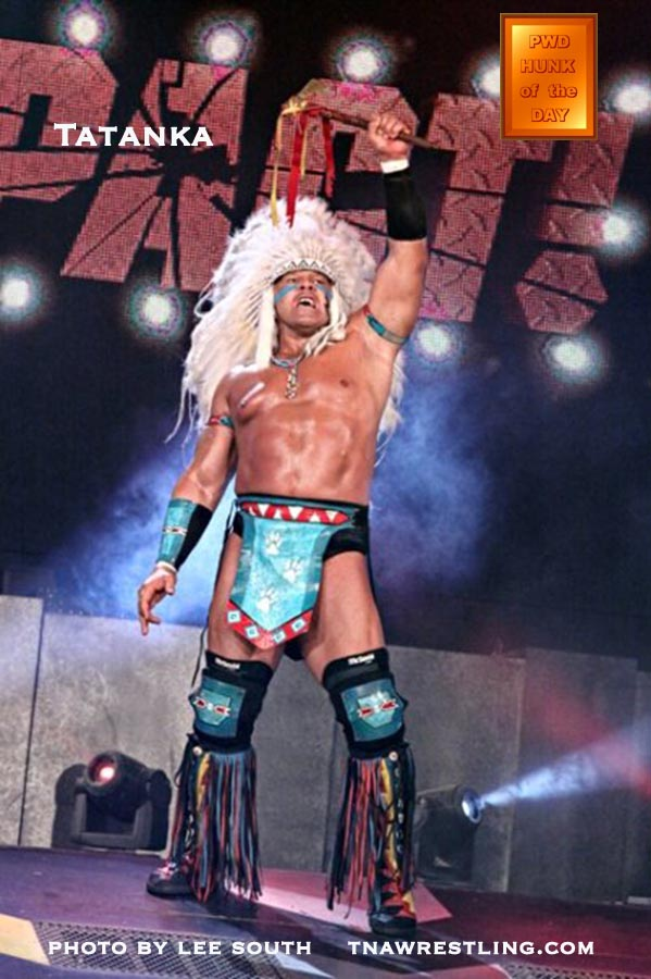 wwe legend tatanka, tna