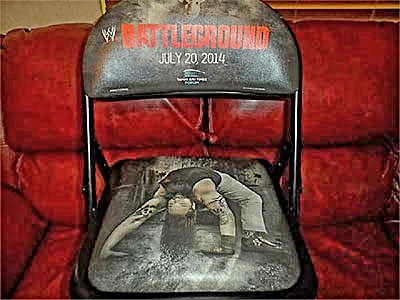 WWE Battleground PPV Chair, Tampa, FL